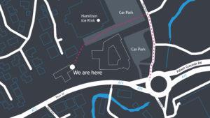 Lomond Wealth Hamilton Office Map